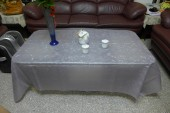 colour embossing anti-slip tablecloth
